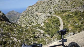 Bild mit Fahrrad