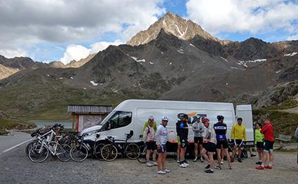 Gavia Pass Gruppe